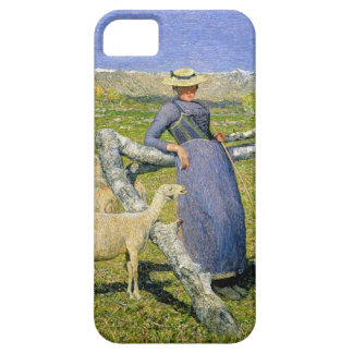 Afternoon in the Alps, 1892 (oil on canvas) iPhone 5 Cover