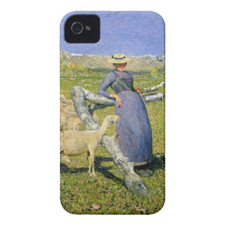 Afternoon in the Alps 1892 oil on canvas iPhone 4 Case