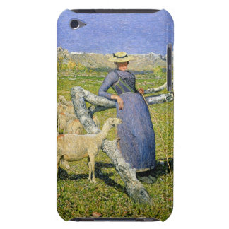 Afternoon in the Alps, 1892 (oil on canvas) iPod Case-Mate Case