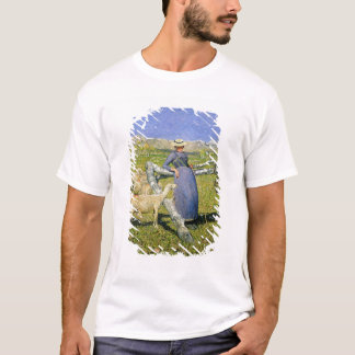Afternoon in the Alps, 1892 (oil on canvas) T-Shirt