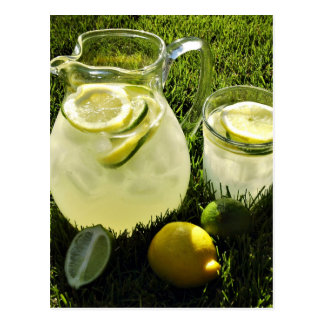 Afternoon Lemonade Postcard