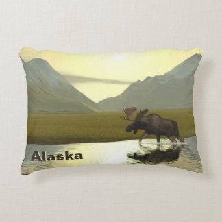 Afternoon Moose Accent Pillow