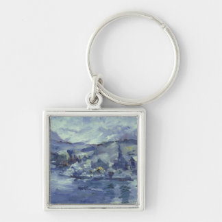 Afternoon on Lake Lucerne, 1924 Keychain