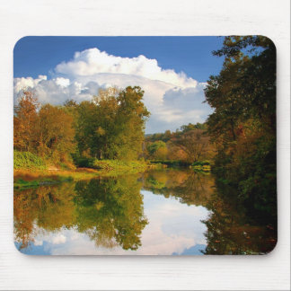 Afternoon Reflection Mouse Pad