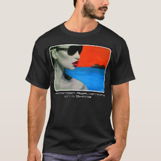 """""""Afternoon Reflections on a Shore"""" on a Shirt"""