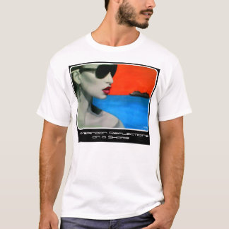 """""""Afternoon Reflections on a Shore"""" on a Value T-Shirt"""