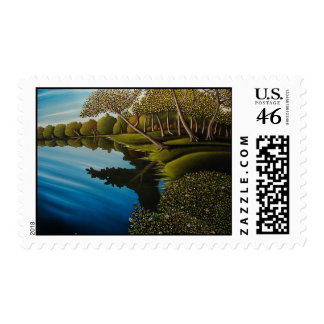 Afternoon Reflections Postage