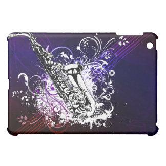 Afternoon Sax - Customize Template iPad Mini Cover