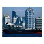 Afternoon skyline, San Diego, California, U.S.A. Postcard