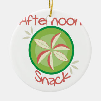 Afternoon Snack Ceramic Ornament