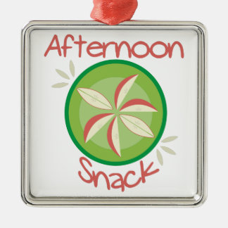 Afternoon Snack Metal Ornament