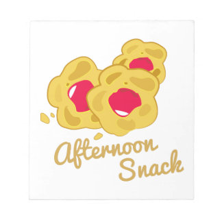 Afternoon Snack Notepad