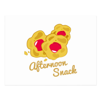 Afternoon Snack Postcards