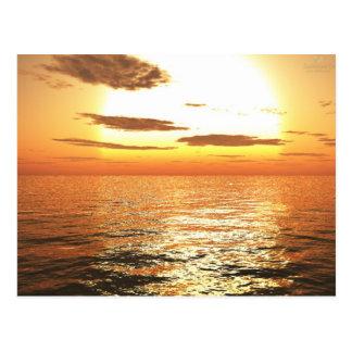 Afternoon Sun Postcard