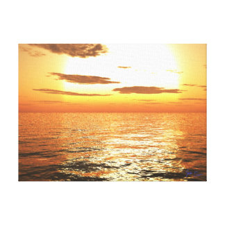 Afternoon Sun Signature Canvas Canvas Prints