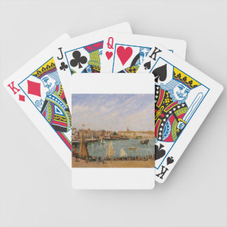 Afternoon, Sun, the Inner Harbor, Dieppe Bicycle Playing Cards