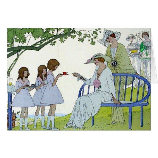 Afternoon Tea 1913 Card