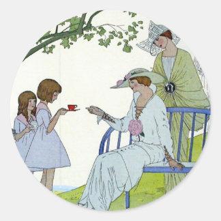 Afternoon Tea 1913 Classic Round Sticker