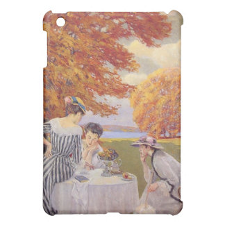 Afternoon tea in the park iPad mini cases