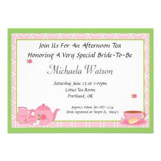 Afternoon Tea Custom Invitations