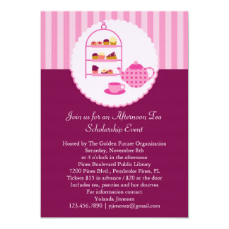 Afternoon Tea Invitation