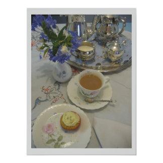 Afternoon tea ladies party card