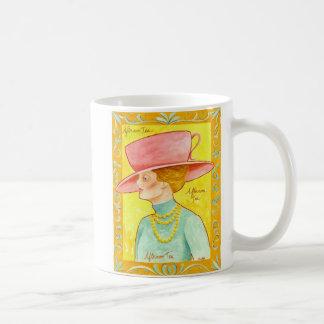 Afternoon Tea Lady Coffee Mug
