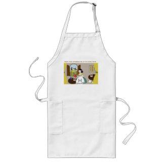 afternoon tea long apron