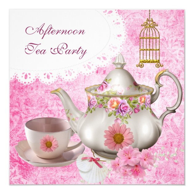 Teapot Invitations with good invitations sample