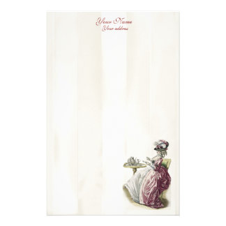 Afternoon Tea, personal Stationery
