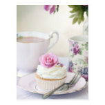 Afternoon tea post cards