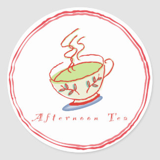Afternoon Tea stickers