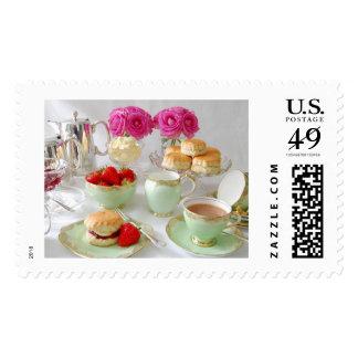 Afternoon Tea US Mail Postage Stamp