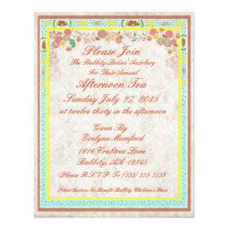 Afternoon Tea Vintage Johnson Bros Bone China - Personalized Invitations
