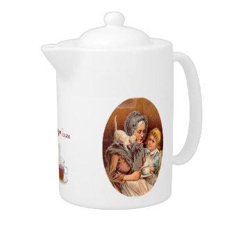 Afternoon Tea With Grandma Teapot