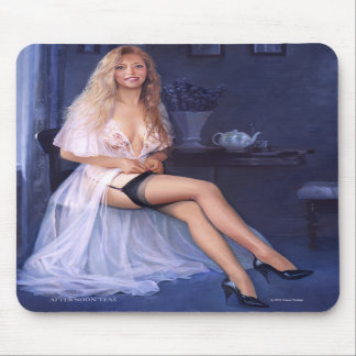 """AFTERNOON TEAS""  Pinup mousepad"
