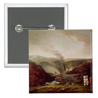 Afternoon view of Coalbrookdale, 1777 Button
