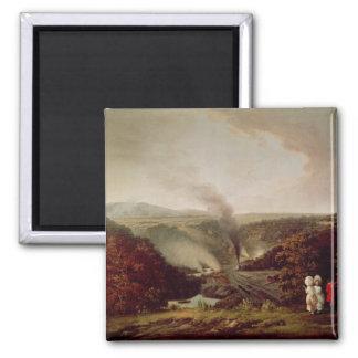 Afternoon view of Coalbrookdale, 1777 Fridge Magnet