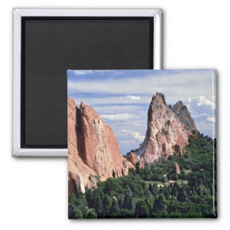 Afternoon with Gods, Garden of Gods, Colorado Magnet