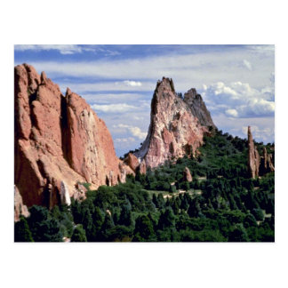 Afternoon with Gods, Garden of Gods, Colorado Postcard