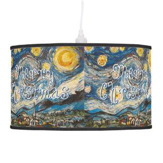 Aftr Vincent van Gogh de la noche estrellada de la