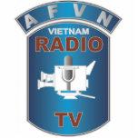 AFVN - Red de Vietnam de las fuerzas americanas Esculturas Fotograficas
