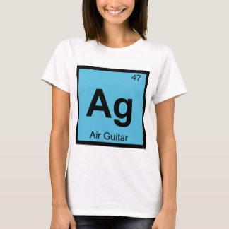 Ag - Air Guitar Chemistry Periodic Table Symbol T-Shirt