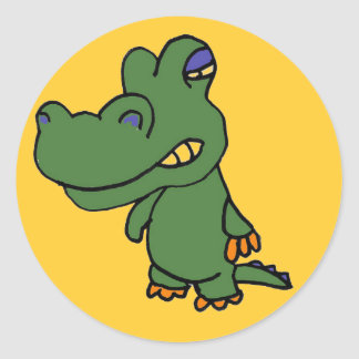 AG- Alligator Sticker