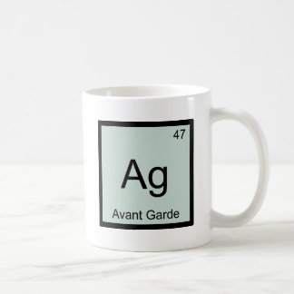 Ag - Avant Garde Chemistry Element Symbol T-Shirt Coffee Mug