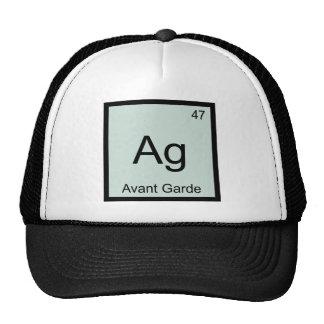 AG - Camiseta del símbolo del elemento de la Gorras De Camionero
