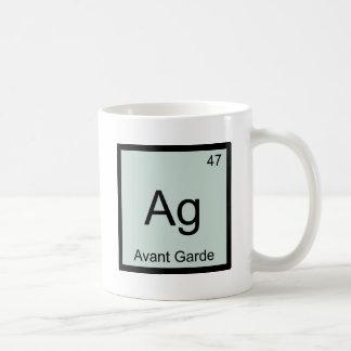 AG - Camiseta del símbolo del elemento de la quími Taza Básica Blanca