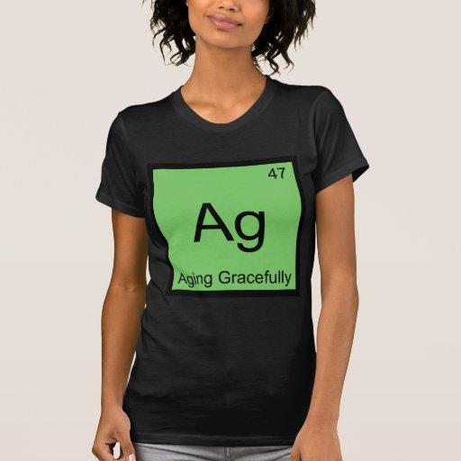 AG - Envejecimiento agraciado de la camiseta del s