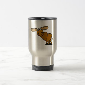 AG- Goofy Moose Design Travel Mug