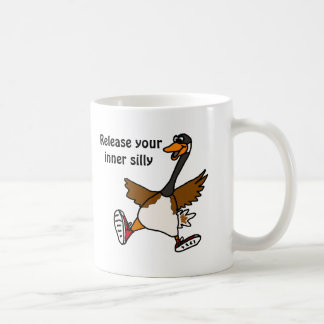 AG- Release Your Inner Silly - Goose Classic White Coffee Mug